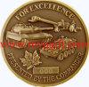 Pièce de monnaie d'enjeu en métal, pièce de monnaie militaire (E-C08)