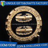 Monete antiche del mestiere del metallo con il disegno unico
