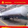 Tri-Essieu 4000 litres de réservoir de carburant de réservoir de stockage de pétrole de remorque semi
