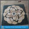 Mattonelle di mosaico naturali del reticolo del travertino & del marmo