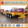 3 des essieux 45FT Conatienr de transport de squelette camion Trialer semi
