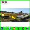 중국 50ton 3 차축 낮은 침대 트럭 트레일러