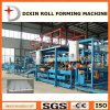 Linha de produção rolo do Paneling do cimento da fibra do EPS do sanduíche que dá forma à máquina