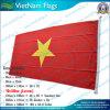 高品質160GSM 100%年のPolyesterベトナムNational Flag (J-NF05F09030)
