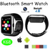 O melhor relógio esperto de venda de Bluetooth com ilumina acima a tela (K68)