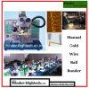 Machine à connecter ultrasonique manuelle de bille de fil d'or Mdbb1750