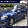 Película protetora de corpo de carro, película desobstruída para a proteção da pintura, películas protetoras para o carro
