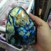 Semi-Preciosa Pedra Natural Cristalita Apresentação Gemstone