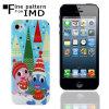 Caixa para iPhone5, carcaça plástica do telefone (paypal) (SMIP521)