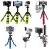 Гибкая тренога с держателем Smartphone и стойка камеры для DSLR, SLR