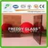 vidrio modelado tejido bronce/coloreado de 6m m