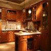 Klassische rote Auslegung-Küche-Möbel der Kirsche2015 neue