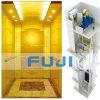FUJI 16passengers pasajeros 1200kg Ascensor Ascensor con Titanio Oro Acero Inoxidable Precio en China