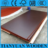 (1220*2440mm) Brown Film Faced Plywood para Construction Formwork