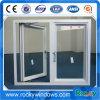 Двойные окно и двери Casement Tempered стекла для дома