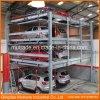 Matériel automatique de stationnement de système de Mutrade de levage vertical hydraulique sec de véhicule