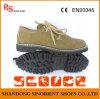 Sapatas de segurança do estilo ocasional com couro RS737 da boa qualidade