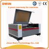 Grabador de papel plástico de cristal de acrílico del grabado del corte del laser del CO2 de Leather/MDF