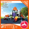 Campo de jogos redondo do jardim zoológico do estilo da música do equipamento do telhado