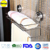 Suction Cup를 가진 목욕탕 Shower Caddy Organizer Shelf Rack