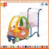 Caddie en plastique de supermarché avec le véhicule de jouet (Zht53)