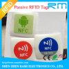 Ntag216 etiqueta de la viruta RFID con la impresión en color cuatro