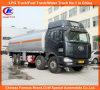 Caminhão do transporte do óleo do tanque 30ton da estrada do combustível das rodas de FAW 12