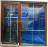 Plastic Frame voor de Schuifdeur van pvc van Door Glass