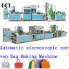 Máquina não tecida para o saco não tecido que faz Kxt-Nwb14 (CD anexado da instalação)