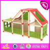 2015 Wooden novo Toy Doll House para Kids, Child Wooden Assembling Assembles Doll House, DIY Doll House Toy Wholesale W06A110