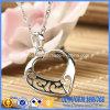 Collana Ab-7 del cuore della cavità dell'argento sterlina 925