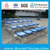 Aluminiumzuschauertribüne-Stuhl-Plastikstuhl-Publikums-Stuhl