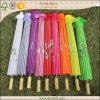Pequeño paraguas de papel tradicional chino del bambú del parasol