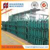 Bâti personnalisé de renvoi d'acier du carbone, passage couvert, maille protectrice pour le convoyeur à bande