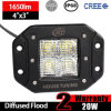 indicatore luminoso del supporto di rossoreare di 20W LED (3inch, 1650lm, IP68 impermeabili)