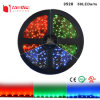 Tira flexible impermeable SMD3528 de IP65 los 60LEDs/M los 4.8W/M