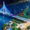 Infrastruttura Cross Sea Bridge Model con Boat (BM-0081)