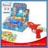Superwasser-Gewehr-Spielzeug mit gepresster Süßigkeit oder Geleebonbon