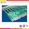 policarbonato plástico del invernadero claro de 1m m que cubre la hoja acanalada
