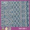 Nouveau tissu de lacet de robe de modèle (Km1389-1)