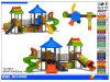 Sistema al aire libre de la diapositiva del patio de 2015 niños