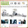 Doble Cutting Machine Head, de aluminio Ventana principal doble CNC máquina de corte