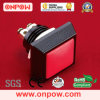 Onpow 12mm Push Button (GQ12S-10/A-R 의 세륨, RoHS)