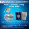 電子Potting Compound Shore 45 Silicone Rubber