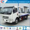 Camion à plat chaud de la charge 4t Towng de la vente 4X2