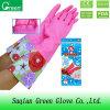 安いPVC冬の洗浄の手袋