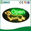 Signe ouvert de magasin de bêtes de DEL