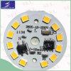 12 PWB del PCS LED 5W para el bulbo