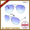 Óculos de sol clássicos do metal do Sell quente à moda na moda novo