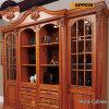 Cabinas de cocina de lujo clásicas de madera sólida de la venta caliente con la isla